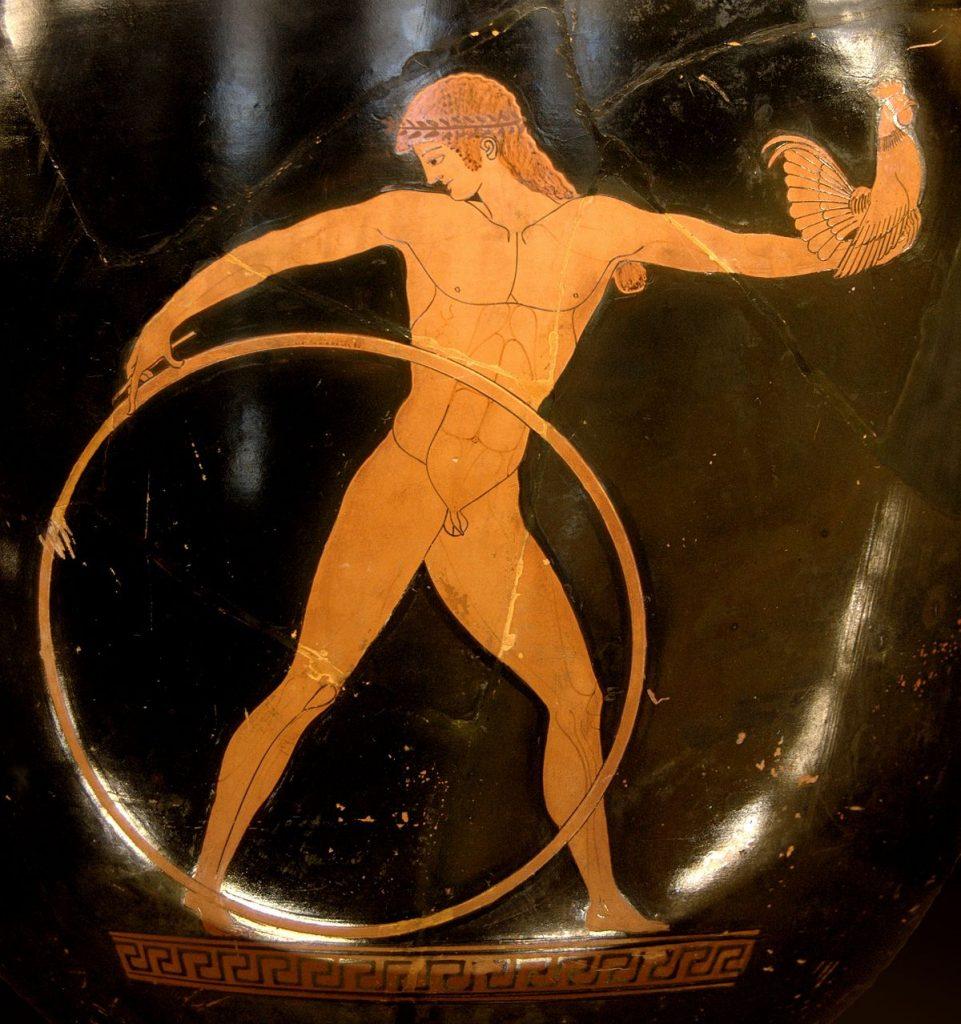 Reifen im alten Griechenland (Quelle: Wikipedia)